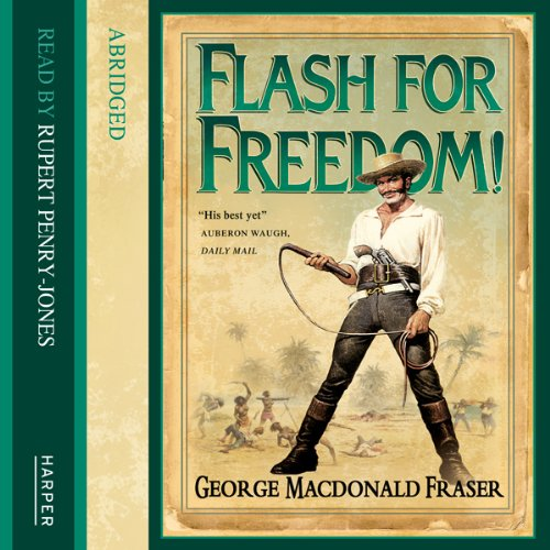 Flash for Freedom! audiobook cover art