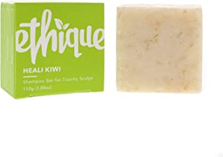 Ethique Eco-Friendly Solid Shampoo Bar for Dandruff & Itchy Scalps, Heali Kiwi - Sustainable Natural Shampoo, Plastic Free...