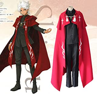 GGOODD Fate Apocrypha Anime Amakusa Shirou Tokisada Cosplay Costume Halloween Clothes Set 5-Piece Set for Men