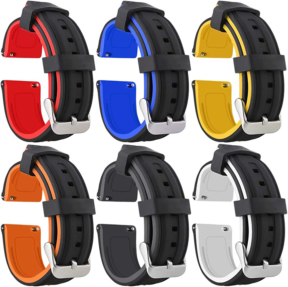 Black and White Red Grey Large discharge sale Orange Wat Yellow Bicolor Kansas City Mall Silicone Blue