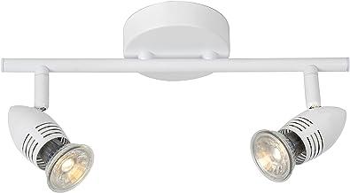 Lucide Caro-LED - Ceiling Spotlight - LED - GU10 - 2x5W 2700K - White
