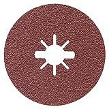 Bosch Professional 2608619172 Disco Abrasivo in Fibra per Metallo, X-Lock, R444, Ø125 mm,...