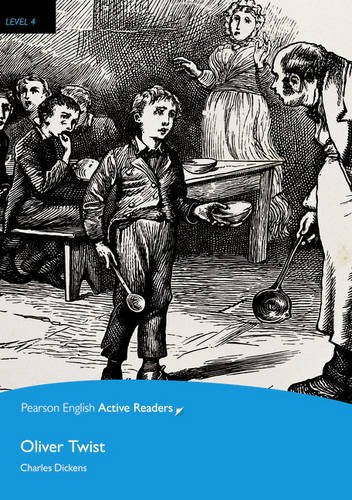 Level 4: Oliver Twist Book & Multi-ROM with MP3 Pack (Pearson English Active Readers)