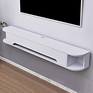 Wall Shelf Floating Shelf Wall-Mounted TV Cabinet Set-top Box Router Sky Box Multimedia Console Toy Photo Trophy Display S...