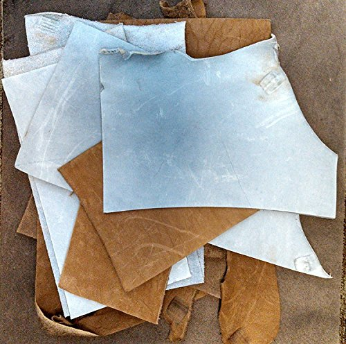 2-Lb Assorted Leather Scraps. Great…