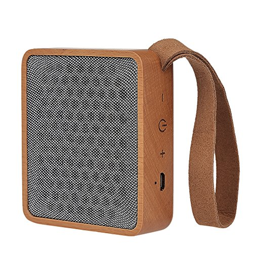 doco Oler festes Madera Altavoz Bluetooth Portable Wireless
