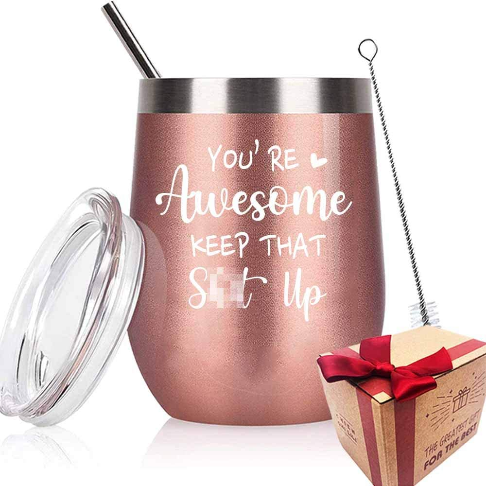 You're Limited New item price sale Awesome Inspirational Wine Tumbler Best Gifts for Her Fri