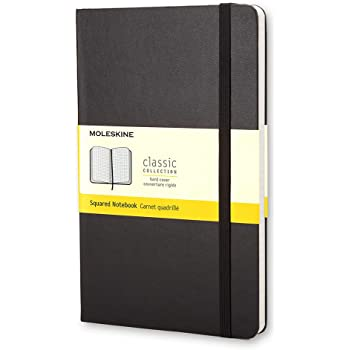 Moleskine Pocket Squared Notebook Classic