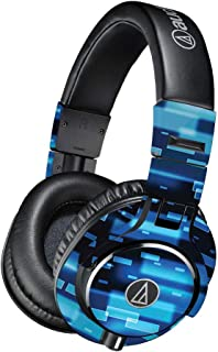Skin Compatible with Audio-Technica ATH-M40x Headphones - Space Blocks  MightySkins Protective, Durable, and Unique Vinyl Decal wrap Cover   Easy to Apply, Remove, and Change Styles   Made in The USA