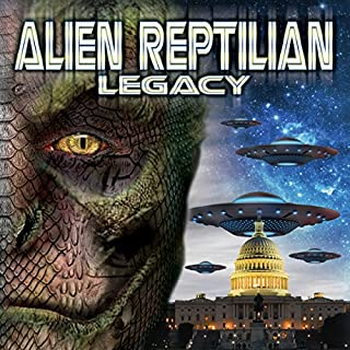 Alien Reptilian Legacy audiobook cover art