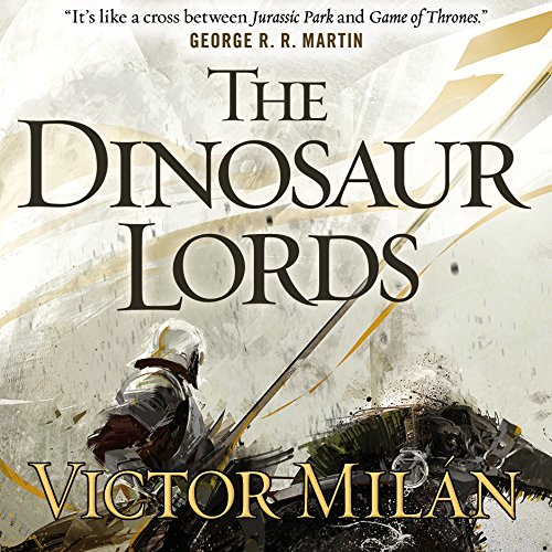 The Dinosaur Lords audiobook cover art