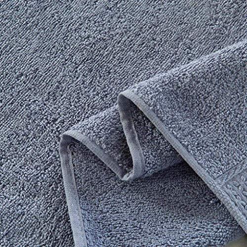 Leyue 33 * 33 cm 100% algodón Color sólido Toalla de Cara Secado turista Camping Gimnasio Suave, (Color : C)