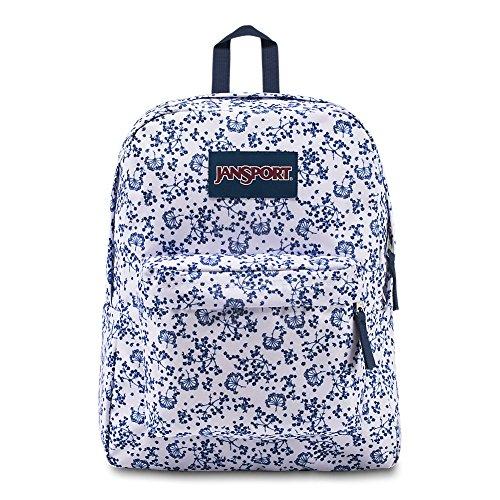 JANSPORT Superbreak Backpack White Field Floral Schoolbag JS00T5014Z9 Rucksack JANSPORT Bags