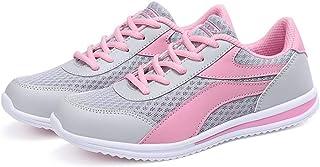 Zapatos para Correr Mujeres Deporte al Aire Libre Transpirable Zapatillas de Deporte Ligeras Cojín de Aire atlético Camina...