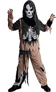 PGOND Boy's Skeleton Ghost Halloween Costume