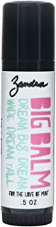 Zandra Big Balm - Lip+Body Balm - For Lips and Other Dry Skin Areas, Made with Shea butter, Coconut, Sunflower, Avocado and Castor Oil - Filled with Vitamin E - FOR THE LOVE OF MINT (.5 oz)