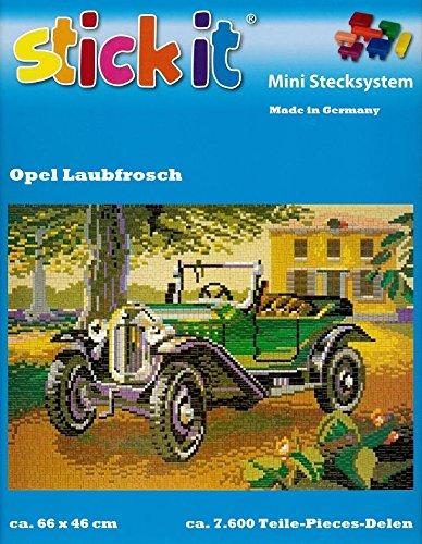 stickit Mini Stecksystem Opel Laubfrosch (Oldtimer) ca. 7.600 Teile Nr. 42149