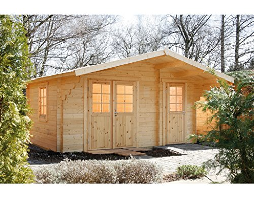 Wolff Finnhaus Gartenhaus Caro 34 Klassik
