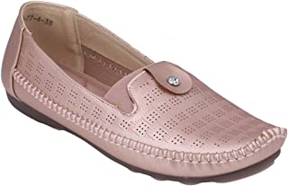 pelle albero Womens Golden Comfortable Casual Shoes