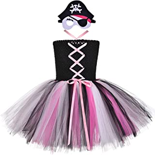 Tutu Dreams Pirate Costume for Girls Cosplay Birthday Party Dress Up