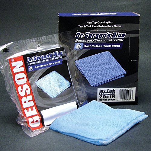 Gerson 20001B 2000 Basecoat/Clearcoat Tack Cloth by Gerson
