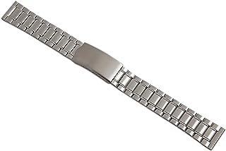 20mm Acero Inoxidable Pulsera de Reloj en Plata