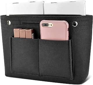 Newseego バッグインバッグ フェルト インナーバッグ 軽量 バッグ ポーチ バッグの中を整理整頓 バックインバッグ 多機能 メンズ レディース Bag in Bag (M)ブラック