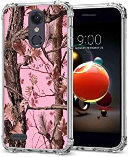 for LG Aristo 2 Camo Case, BAYKE Slim TPU Bumper Cushion Protective Cover with Reinforced Corners for LG Aristo 2 Plus/Zone 4/Tribute Dynasty/Phoenix 4/Fortune 2/Rebel 4/Risio 3/K8 2018/ K8+/K8 Plus