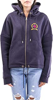 TOMMY HILFIGER Luxury Fashion Womens RW0RW01597VB7 Blue Sweatshirt | Fall Winter 19