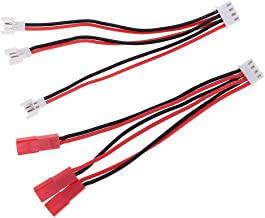 4S 10pcs Prise m/âle /équilibr/ée Jeu de Barres 2S 3S 4S 5S 6S rallonge de Charge Cordon de Balance de 15 cm pour RC Batterie au Lithium