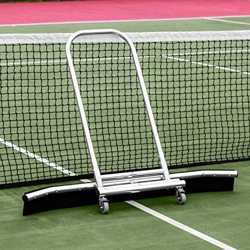 Vermont Rain Shuttle Tennis Court Squeegee | Professional Squeegees | Tennis Court Equipment Accessories Lightweight Aluminum Squeegee Broom | 5ft EVA Foam Blade