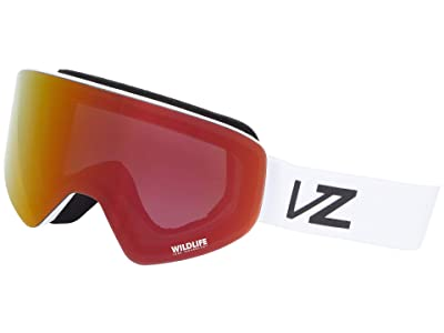 VonZipper Encore (White Satin/Wildlife Black Fire) Goggles