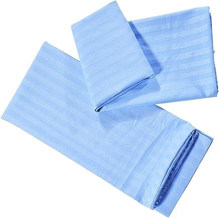 Fenteer 高品質 シンプル 枕カバー ソフト ピローカバー ピローケース 1ペア 快適 4色3サイズ選択可能  - ブルー, M
