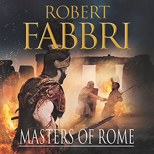 Masters of Rome audiobook cover art