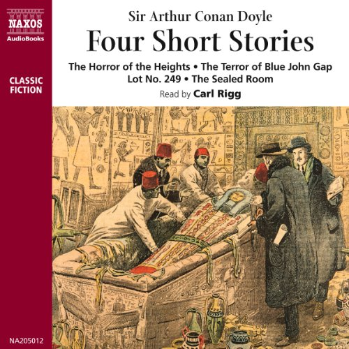 Four Short Stories audiobook cover art