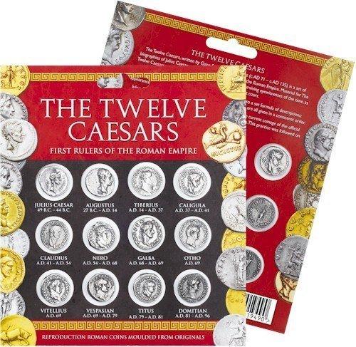 Denarii Replica Pack of Twelve Caesars