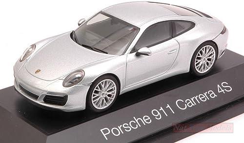 HERPA HP7105 PORSCHE 911 CARRERA 4S 2013 Silber 1 43 MODELLINO DIE CAST MODEL