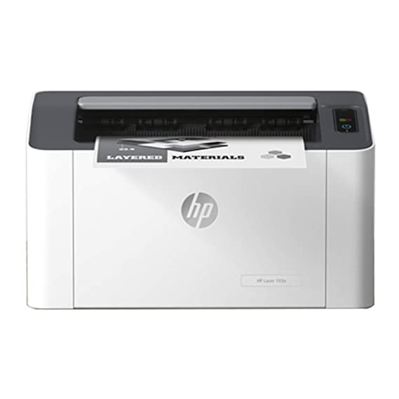 HP Laser 103a Single Function Laser Printer (Black)
