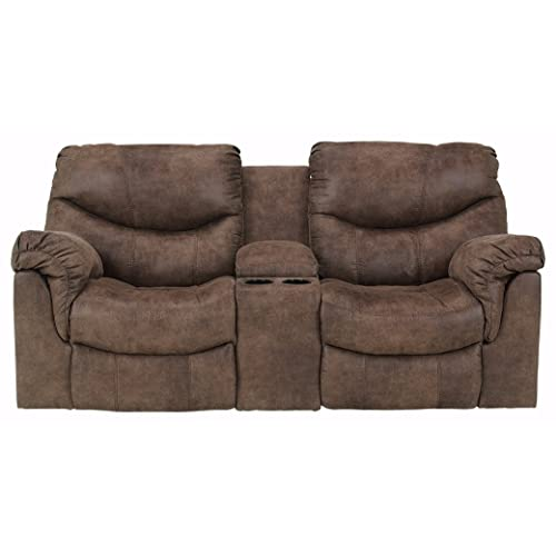 Terrific Reclining Loveseats With Console Amazon Com Alphanode Cool Chair Designs And Ideas Alphanodeonline