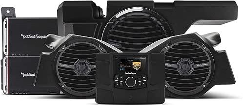 Rockford Fosgate RZR-STAGE3 600 Watt Stereo, Front Speaker and subwoofer kit for Select Polaris RZR Models