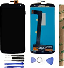 JayTong LCD Display & Replacement Touch Screen Digitizer Assembly with Free Tools for BLU Studio 6.0 HD D650 D650A D650I D651 D651U D651L Black