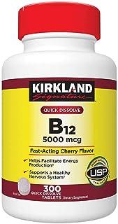 Kirkland Signature Vitamin B-12 5000 Mcg Sublingual 600 Count
