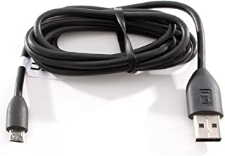 HTC New Original OEM USB Sync Data Cable Charger for HTC One/S/V/X/X+, EVO 4G LTE - Non-Retail Packaging - Black