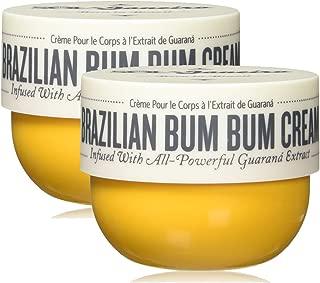 Sol De Janeiro Brazilian Bum Bum Cream, 8.1 oz, 2 Pack