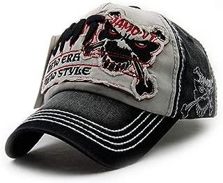 Trucker Vintage destroy Cap Baseball-Cap KAPPE Verstellbar mit Kette