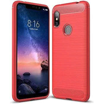 Anjoo Funda Compatible con Xiaomi Redmi Note 6 Pro, Carcasa ...