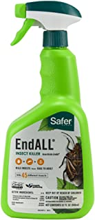 Safer Brand 5102-6 Ready-to-Use End All Insect Killer - 32 oz
