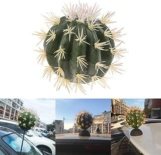 LotCow Funny Cactus Automotive Car Antenna Topper Aerial Ball Eva Decorative Topper Ball Antenna Ball Pen Topper Finding Car Decoration Ball