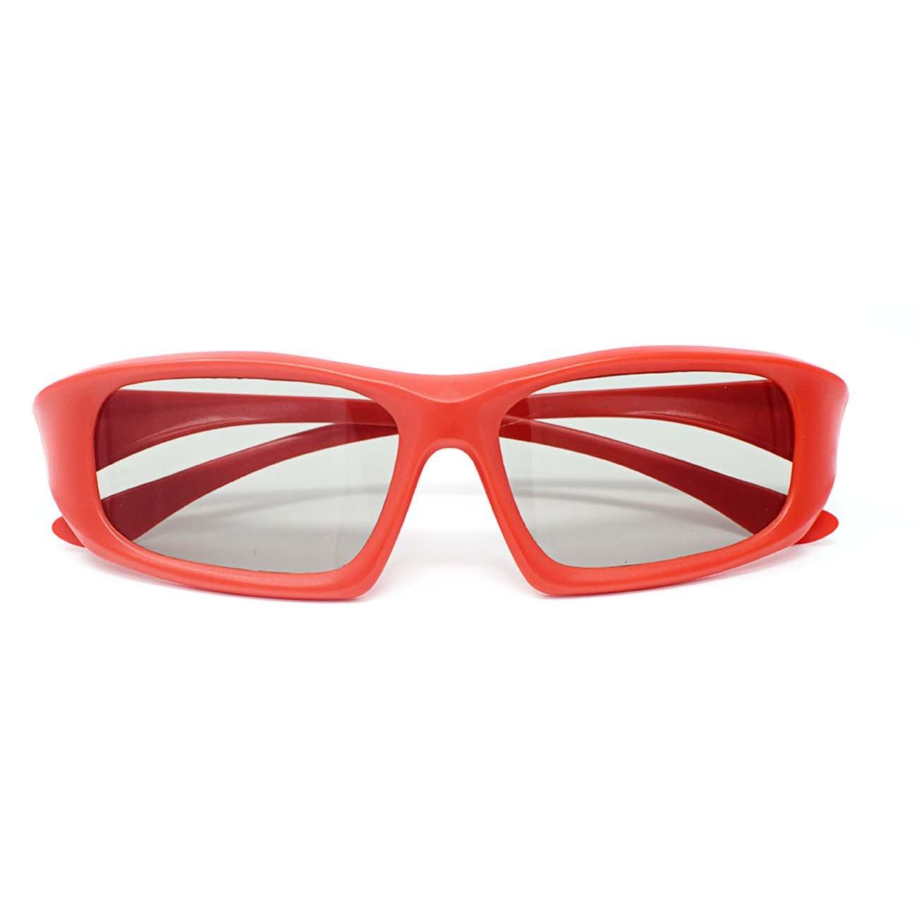 Ultra 1 Rojo 1 Negro Adultos 1 Azul 1 Rosa Niños Par Gafas 3D para ...