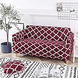 MKQB Funda de sofá de Sala de Estar Moderna y Sencilla, Funda de sofá elástica elástica, Funda de sofá Antideslizante con combinación de Esquina en Forma de L Funda de Almohada n. ° 5